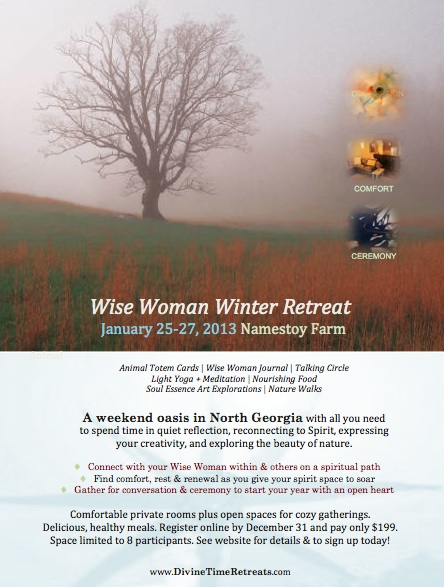 Wise Woman Winter Retreat